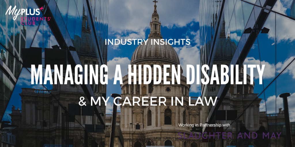 Making it, not faking it – Being open about my disability in a Magic Circle law firm photo