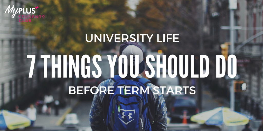 How to get your act together before coming back for the Autumn term