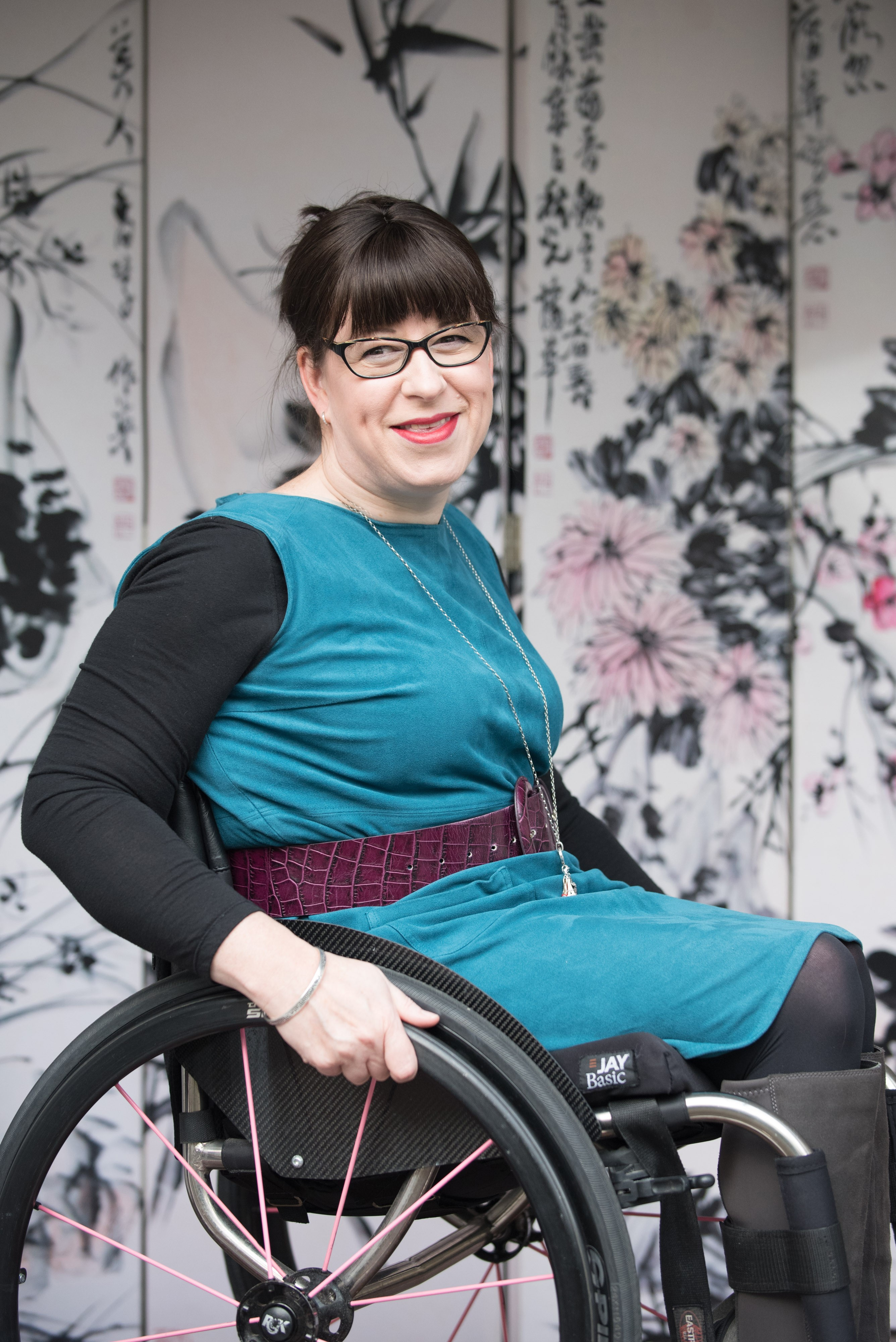 Being a wheelchair user has given me the drive for disability to be normalised in business